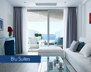 Blu Suite with private swimming pool